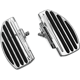 Kuryakyn ISO Passenger Boards - Show Chrome Universal Floorboard Set With 1-1/4