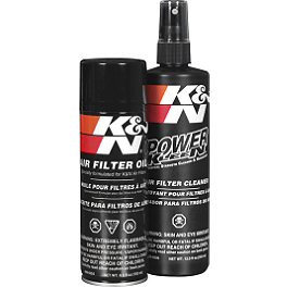 K&N Air Filter Care Kit - 2008 Honda TRX450R (KICK START) DWT .160 Aluminum Black Label Rear Wheel - 9X8 3B+5N