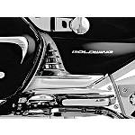 Kuryakyn Louvered Battery Box Covers - Chrome - Kuryakyn Cruiser Parts