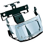 Kuryakyn Sub-Fender Curved LED License Plate Bracket - Kuryakyn Cruiser Parts