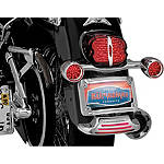 Kuryakyn Curved Fender Tip License Plate Mount - Kuryakyn Cruiser Parts
