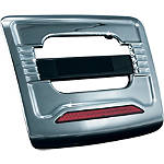 Kuryakyn License Plate Trim Panel With Run-Brake Accent Light - Cruiser Tail Lights