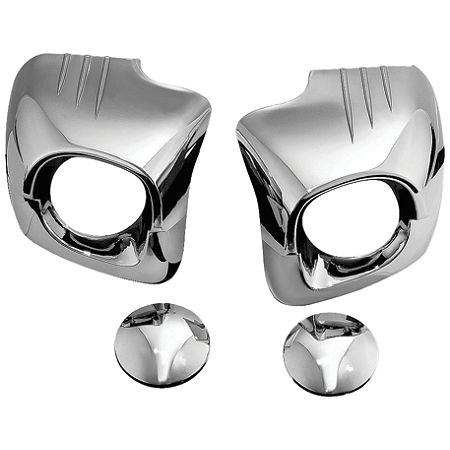 Kuryakyn Lower Cowl Covers - Chrome - Main