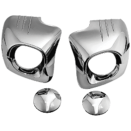 Kuryakyn Lower Cowl Covers - Chrome - Kuryakyn Trunk Tail Light Accents