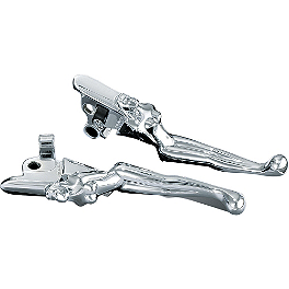 Kuryakyn Lever Set - Silhouette - Biker's Choice O-Series Levers Set