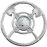 Kuryakyn Universal Firefighter Medallion - Cruiser Chrome Hardware and Accessories