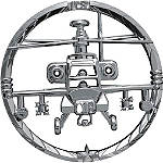 Kuryakyn Universal Helicopter Gunship Medallion - Cruiser Fairing Kits and Accessories