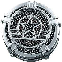 Kuryakyn Universal Patriot Medallion - Kuryakyn Universal Widow Medallion