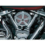 Kuryakyn Mach 2 Universal Air Cleaner Kit - Chrome - Kuryakyn Cruiser Fuel and Air
