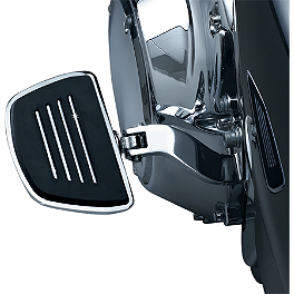 Kuryakyn Premium Mini Boards With Male-Mount Adapter - 1995 Harley Davidson Road King - FLHR Kuryakyn Custom Tie-Down Brackets - Silhouette