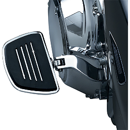 Kuryakyn Premium Mini Boards Without Adapter - 2006 Triumph Rocket 3 Kuryakyn Footpeg Adapters - Front