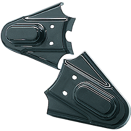 Kuryakyn Phantom Axle Covers - Black - Kuryakyn Petcock Cover