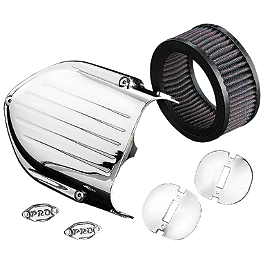 Kuryakyn Pro Series Hypercharger Upgrade Kit - Kuryakyn Skull Cover For S&S Air Cleaner