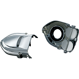 Kuryakyn Universal Pro-R Hypercharger - 2011 Yamaha V Star 950 Tourer - XVS95CT Kuryakyn Replacement Turn Signal Lenses - Clear