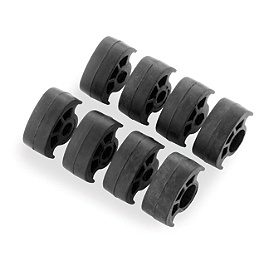 Kuryakyn Replacement Rubber For Footpegs - 2010 Honda Sabre 1300 - VT1300CS Kuryakyn Footpeg Adapters - Front