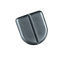 Kuryakyn Replacement Rubber For Stirrup Heels - 1998 Harley Davidson Road King Classic - FLHRCI Kuryakyn Plug-In Driver Backrest