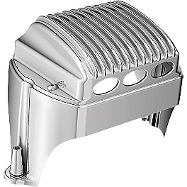 Kuryakyn Regulator Cover - 2009 Harley Davidson Road Glide - FLTR Kuryakyn Plug-In Driver Backrest