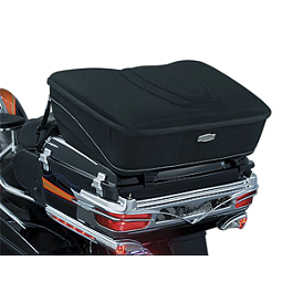 Kuryakyn Pakmaster Rack Bag - Kuryakyn Saddlebag Latch Accents - Flamed