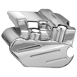 Kuryakyn Rear Caliper Cover - Fluted - 2007 Suzuki Boulevard M109R LE - VZR1800Z Kuryakyn Rear Caliper Cover