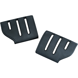 Kuryakyn Replacement Rubber For Dually Trident Pegs - Kuryakyn Short Black Magnum Footpeg Mounts 1/2