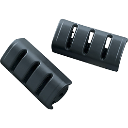 Kuryakyn Replacement Rubber For Large Trident Pegs - 2005 Honda Shadow VLX - VT600C Kuryakyn Footpeg Adapters - Front
