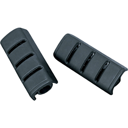 Kuryakyn Replacement Rubber For Small Trident Pegs - Kuryakyn Footpegs With Male Mounts - ISO Sweptwing