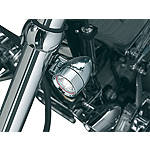 Kuryakyn Small Halogen Silver Bullets With Fork Mount - Cruiser Lighting