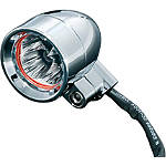 Kuryakyn Small Super Bright Dual Function Silver Bullets - Red - Cruiser Lighting