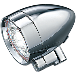 "Kuryakyn Halogen Style Silver Bullets - 5/16""-18 Mounting Bolt - Show Chrome Mini Bullet Marker Light"