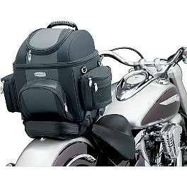 Kuryakyn GranTour Sissy Bar Bag - 2007 Suzuki Boulevard C50 SE - VL800C Kuryakyn Replacement Turn Signal Lenses - Clear