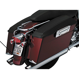 Kuryakyn Saddlebag Lid Covers - Plain - 2005 Harley Davidson Road King - FLHRI Kuryakyn Lower Fork Leg Covers