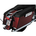 Kuryakyn Saddlebag Lid Covers - Plain - Kuryakyn Cruiser Saddle Bags