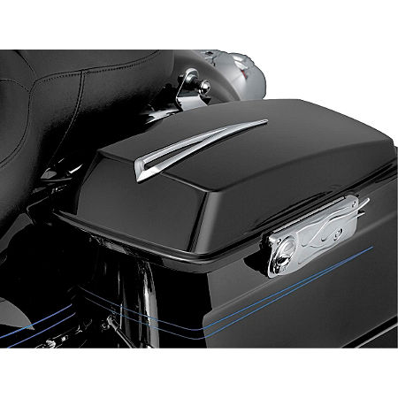 Kuryakyn Slotted Saddlebag Lid Accents - Main