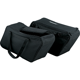 Kuryakyn Removable Saddlebag Liners - Kuryakyn Passenger Floorboard Inserts - Widow