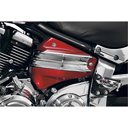 Kuryakyn Side Cover Accent - Baron Cylinder Covers - Comet