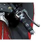 Kuryakyn Sportbike Chrome Levers -  Dirt Bike Hand Controls