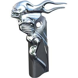 Kuryakyn Shift Arm Cover - Zombie - Biker's Choice Master Cylinder Cap