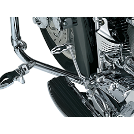 Kuryakyn Shift Peg - Flamin' - 2005 Honda Shadow Spirit 1100 - VT1100C Kuryakyn Handlebar Control Covers