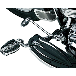 Kuryakyn Shift Peg - Zombie - Kuryakyn Power Cell Exhaust Cover - Chrome
