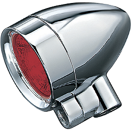 Kuryakyn Super Bright Reflector Bulbs For Silver Bullets - 2008 Honda Gold Wing 1800 Audio Comfort - GL1800 Kuryakyn Footpeg Adapters - Front