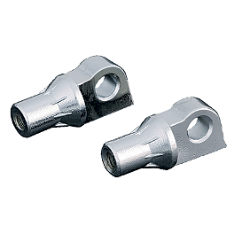 Kuryakyn Serrated Male Mounts - 2011 Kawasaki Vulcan 900 Custom - VN900C Kuryakyn Footpeg Adapters - Front