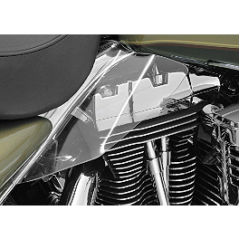 Kuryakyn Replacement AirMaster Saddle Shield Mount Kit - 1997 Harley Davidson Electra Glide Classic - FLHTC Kuryakyn Custom Tie-Down Brackets - Silhouette