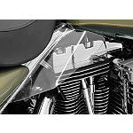 Kuryakyn Replacement AirMaster Saddle Shield Mount Kit - Motorcycle Windshields & Accessories
