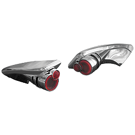 Kuryakyn Spoiler End Trim With LED Turn Signals - Custom Dynamics LED Tail Light Bulbs