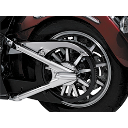 Kuryakyn Swingarm Cover Set - 2012 Yamaha Road Star 1700 Silverado S - XV17ATS Kuryakyn Clutch Perch Cover
