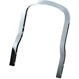 Kuryakyn Plug-N-Play Sissy Bar - Cobra Steel Sissy Bar Insert - Flag