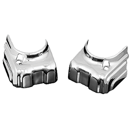 Kuryakyn Tappet Block Covers - 2005 Yamaha Road Star 1700 Midnight - XV17AM Kuryakyn Triceptor Fender Accent