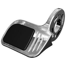 Kuryakyn Contoured ISO Throttle Boss - Kuryakyn Toe Shift Peg Cover - Round