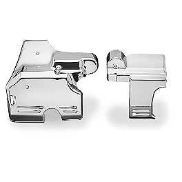 Kuryakyn Transmission Cover Set - Show Chrome Smooth Blade Clutch Lever