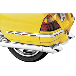 Kuryakyn Turndown Exhaust Extensions - Kuryakyn Triple Straight Exhaust Extension